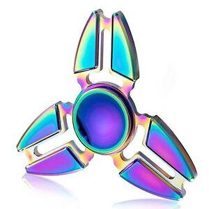 Fidget Finger Spinner Hand Focus Spin EDC Bearing Stress Toys UK SELLER