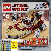 Lego Star Wars - 8092 Luke's Landspeeder Nisb Skywalker Obi-wan R2-d2 Minifigure