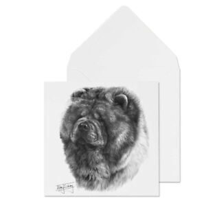 Dog Blank Mike All Greeting Card Sibley Breed Chow Occasions H9DE2I