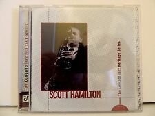 Scott Hamilton CD Concord Jazz Heritage Series, CCD-4819-2, 1998