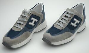 HOGAN JUNIOR INTERACTIVE Bambino Sneaker Scarpe Casual Free Time ...