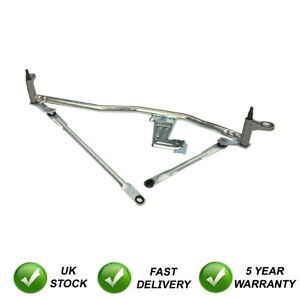Fits-Peugeot-Boxer-2006-2014-New-Front-Wiper-Motor-amp-Linkage-Mechanism-Assembly