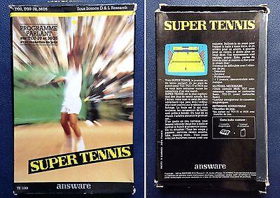 thomson to7 to7 70 mo5 super tennis answare ebay ebay