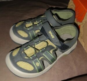 7c6fedf62 Teva Omnium K Sandal USA Size 1  6078 Water Hiking Water Outdoor ...
