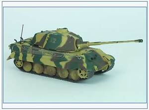 Tiger-II-Kampfgruppe-Peiper-Ardennen-1944-Magazine-Models-1-72-NEU-amp