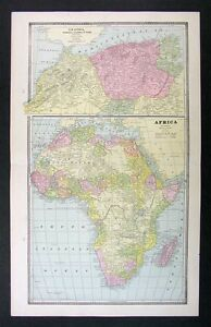 1883 Antique Map - Africa - Morocco Egypt Nubia South | eBay on map of africa, map of the us, map of greece, map of senegal, map of the mediterranean, map of tangier, map of atlantic ocean, map of gibraltar, map of fez, map of world, map of romania, map of marrakech, map of nicaragua, map of austria, map of mali, map of algeria, map of honduras, map of saint martin, map of western sahara, map of mongolia,