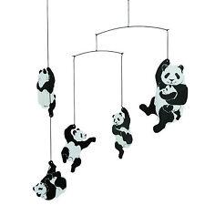 Flensted Panda Bear Hanging Baby Mobile Nursery Decor-Free Shipping!