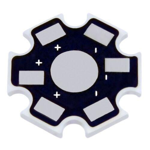 1 Stück Star Leerplatine für HighPower LED Emitter Platine für High Power Leds