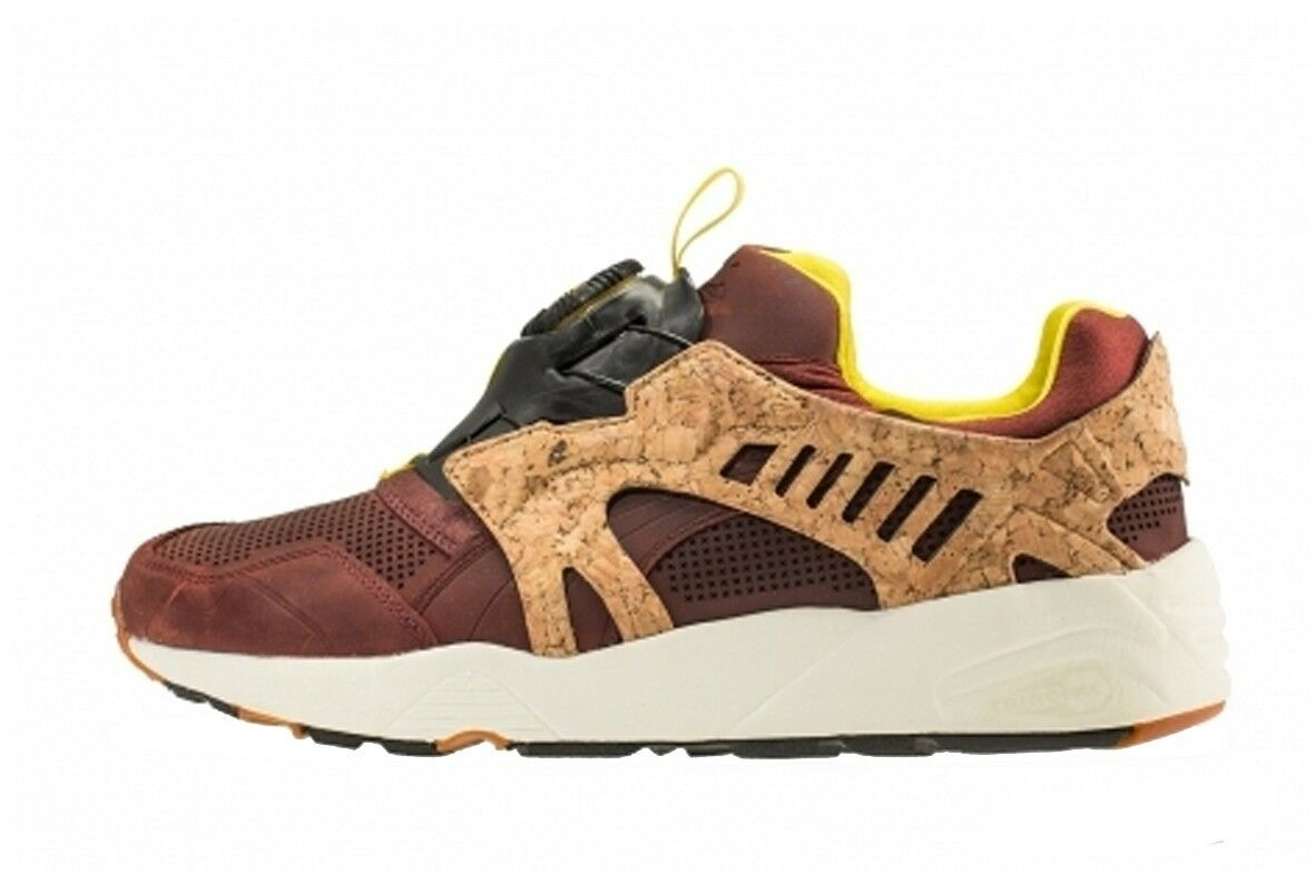 Puma Disc Leather Cage Lux Opt.2 SZ 9 Cork Pack Chili vnds fieg 356410-01