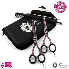 Original SHARPY Barber Hairdressing Scissors Set Hair Cutting Shears Kit RRP £38