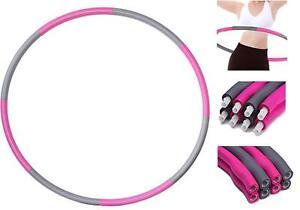 Schiuma-imbottita-esercizio-ponderata-hula-hoop-1-2KG-Sport-Allenamento-Fitness-palestra-personale