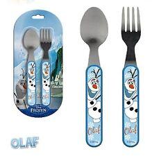 Disney OLAF Kinder Besteck Set 2-teilig Essbesteck Löffel Gabel Frozen