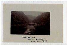 (Sc945-428)  RP, The Wharfe,  Bolton Woods, SKIPTON 1907, Postally unused  VG