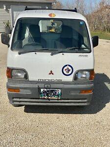1996  Mitsubishi minicab 4x4 truck