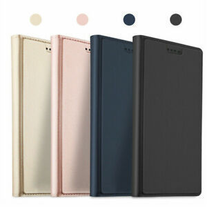 For-Sony-Xperia-10-Plus-1-XZ3-XZ2-Slim-Magnetic-Leather-Wallet-Flip-Cover-Case