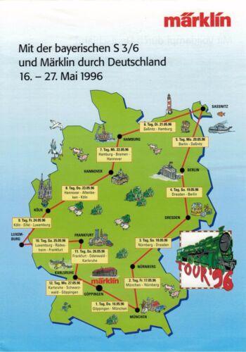 - 27 Mit der bayerischen S3//6 und Märklin durch Deutschland 16 Mai 1996