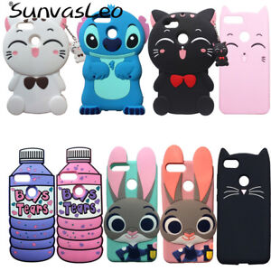 new products 4afb0 ba98e Details about For Huawei Honor 7X 3D Soft Silicone Case Phone Back Cover  Cartoon Unicorn Shell