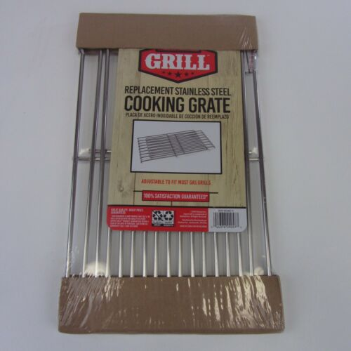 Expert Grill Adjustable Replacement Stainless Steel Grate for BBQ