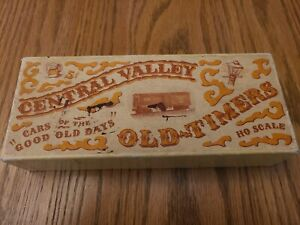 HO CENTRAL VALLEY G.M.&G WOOD VENTILATED BOXCAR, TRUSS ROD, VINTAGE