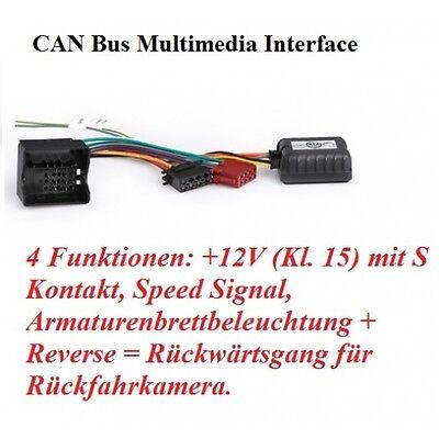 RTA 032.525-0 CAN-Bus Adapter Quadlock für Opel Agila A Antara Astra H Combo C