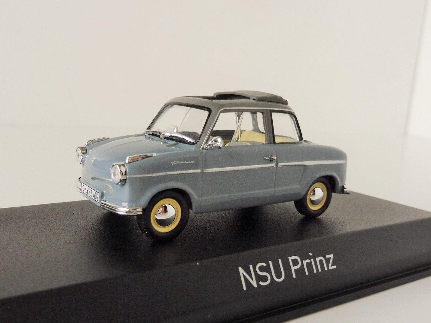 NSU Prinz II 1959 Grau 1 43 Norev 831014 Limousine Motorenwerke AG  | Authentische Garantie