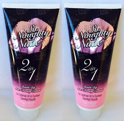 Lot of 2 Devoted Creations So Naughty Nude 2 in 1 UV and