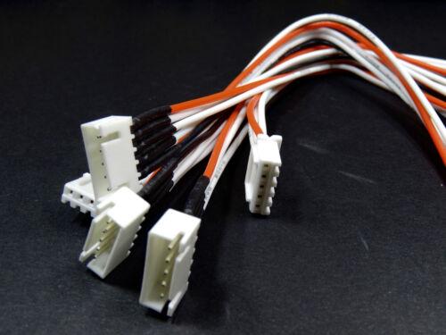 2x 4S 5Pin Balancerkabel Verlängerung JST-XH XH 20cm Lipo Akku Kabel Batterie RC