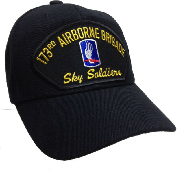 173rd Airborne Ranger Brigade US Army Sky Soldiers Veteran Ball Cap Patch  Hat 69d4e5d8aef