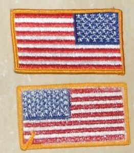 Wearing a flag patch on a shirt American Flags Forum