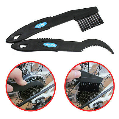 BIKE CLEANING TOOLS 2 Piece Set Cassette Cog Claw /& Chain Brush For All Cycles