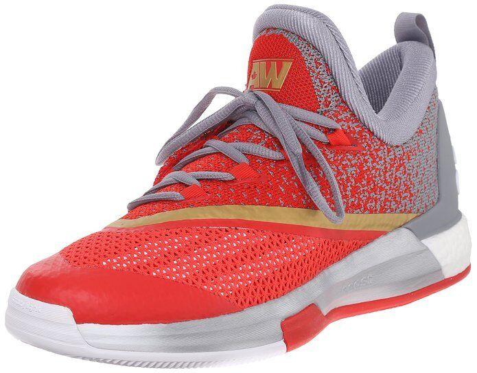 Adidas Performance Men's Crazylight Boost 2.5 Low Basketball shoes AQ8468 (B)