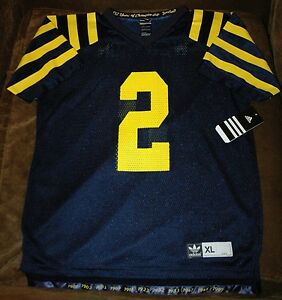 buy popular e8b73 f2da7 Details about Charles Woodson jersey! Michigan Wolverines YOUTH XL 18-20  NEW w tags THROWBACK!