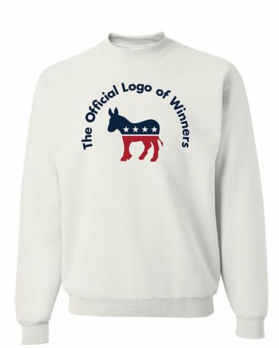 The Official Logo of Winners Sweatshirt USA Democratic Party Donkey Sweater