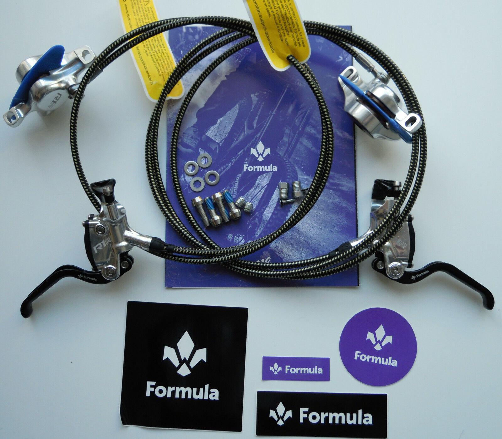 Formula - System R1R R1 Racing MY20 Silber Polish Guaine mit Kevlar FD94175-RR