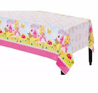 Woodland Princess Plastic Table Cover Girls Birthday Party Supplies Decoration