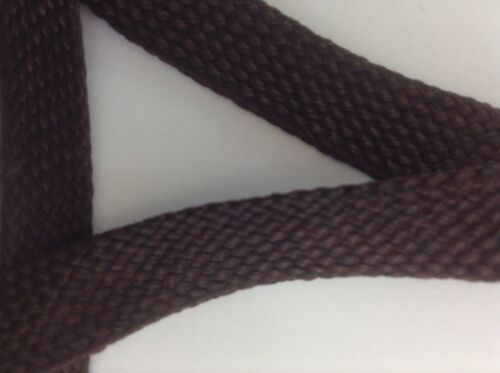 Beautiful Knitted Brown Foldover Trim BTY -FO119
