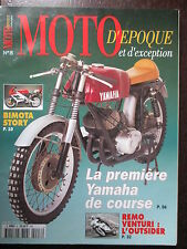 REVUE MOTO D'EPOQUE N°8 YAMAHA 250S BIMOTA MONDIAL 160  MORINI 175 ENDURO