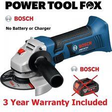 -(B A R E)-Bosch GWS 18V Li Cordless 115M ANGLE GRINDER 060193A30H 3165140811965
