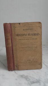 Bossuet - Orazioni Funebri - 1879 - Libreria Garnier