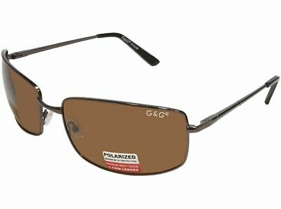 Bigalux Sunglasses Extra Wide 160mm Frame XXL Large Heads Gold Brown Polarized