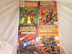 Warhammer-Multi-Liste-Citadel-Annuel-Miniatures-Catalogues-Veuillez-Choisir