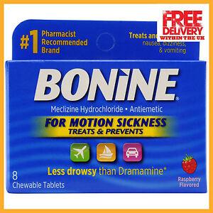 Details about Bonine Motion Anti-Sickness Tablets