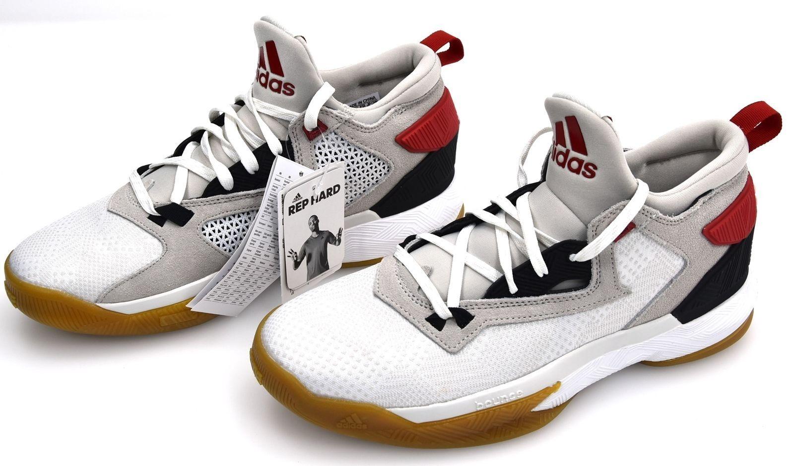 mejor servicio Adidas Lillard Lillard Lillard 2 F37123 Casa Dame D blancooo Rojo Escarlata Negro Rip City baloncesto  ofrecemos varias marcas famosas