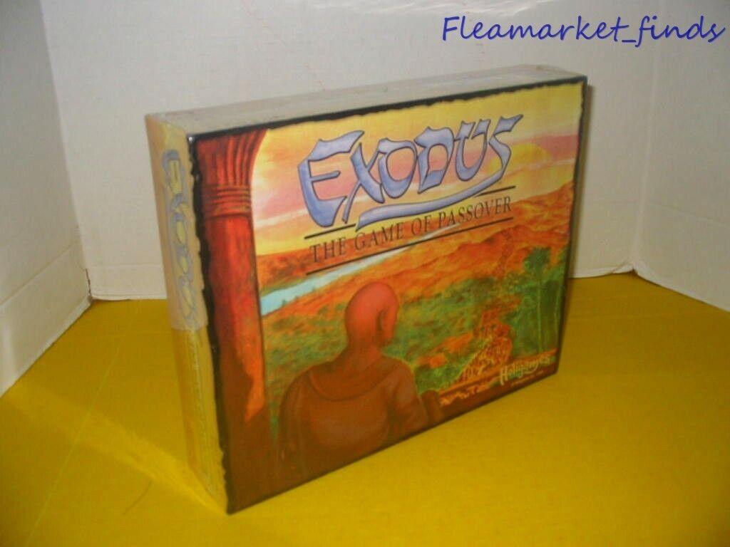 Holigames EXODE Le jeu de la pâque juive BOARD GAME RARE COMPLET 1999