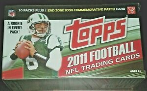 2011 TOPPS FOOTBALL CARDS BLASTER BOX Original Factory Sealed NBA WAREHOUSE FIND