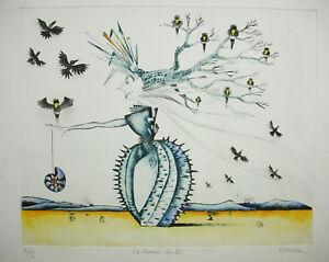 Jean-Marie-Munier-1957-La-Woman-Cactus-4-75-Surrealism-Yves-Tanguy-S-DALI