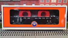 Lionel PM Gondola Two Cable Wire Reels 6-81028 Pere Marquette Train Car 6-81661