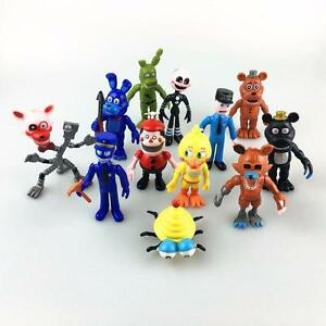12Pcs Five Nights at Freddy/'s FNAF Action Figures Doll Games Toy Set XMAS Gift