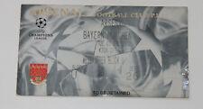 old TICKET CL Arsenal London England - Bayern Munchen Germany