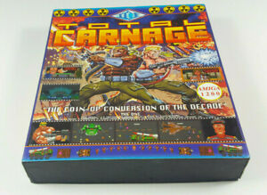 Total-Carnage-Commodore-Amiga-Spiel-Big-Box-OVP-VGC-CIB-Vintage-Collectible